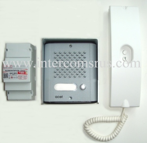 Acet 1 button kit x 300 door entry handsets, door entry handsets and spares products acet intercom wiring diagram at mr168.co